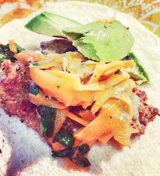 Fish stick tacos red meatless monday football food for Fish stick tacos